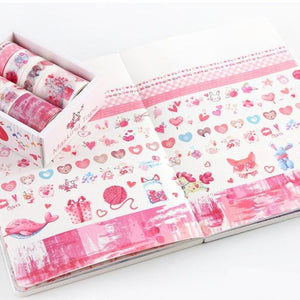Washi Tape set — Fallen Patals - Sutoru - Washi Tape - Mr. Paper