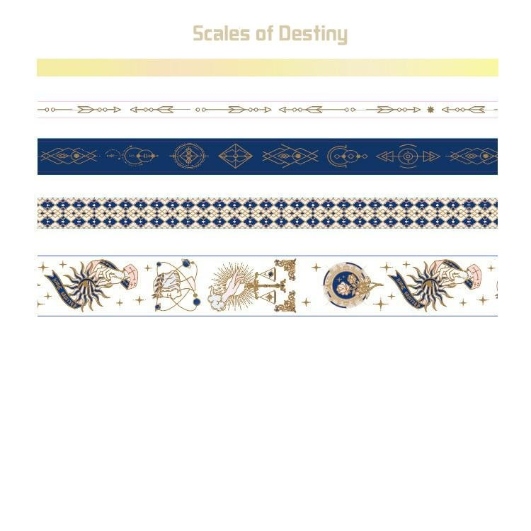 Washi Tape Set —— Scales of Destiny - Sutoru - Washi Tape - MISS TIME