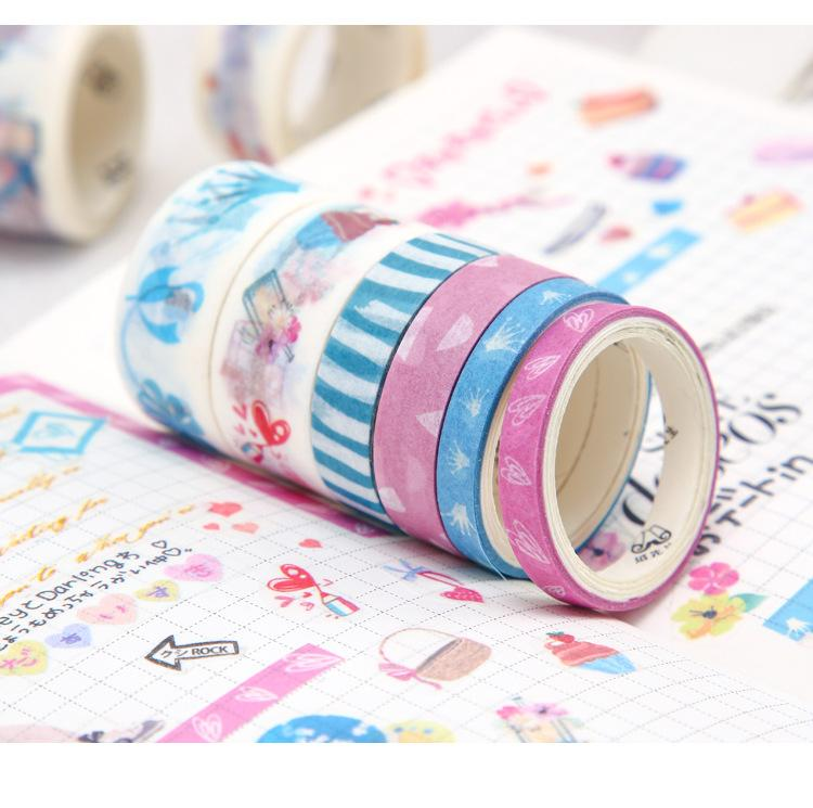 Washi Tape set — Single's Diary - Sutoru - Washi Tape - Mr. Paper
