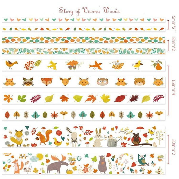 Washi Tape set — Story of Vienna Woods - Sutoru - Washi Tape - Mr. Paper