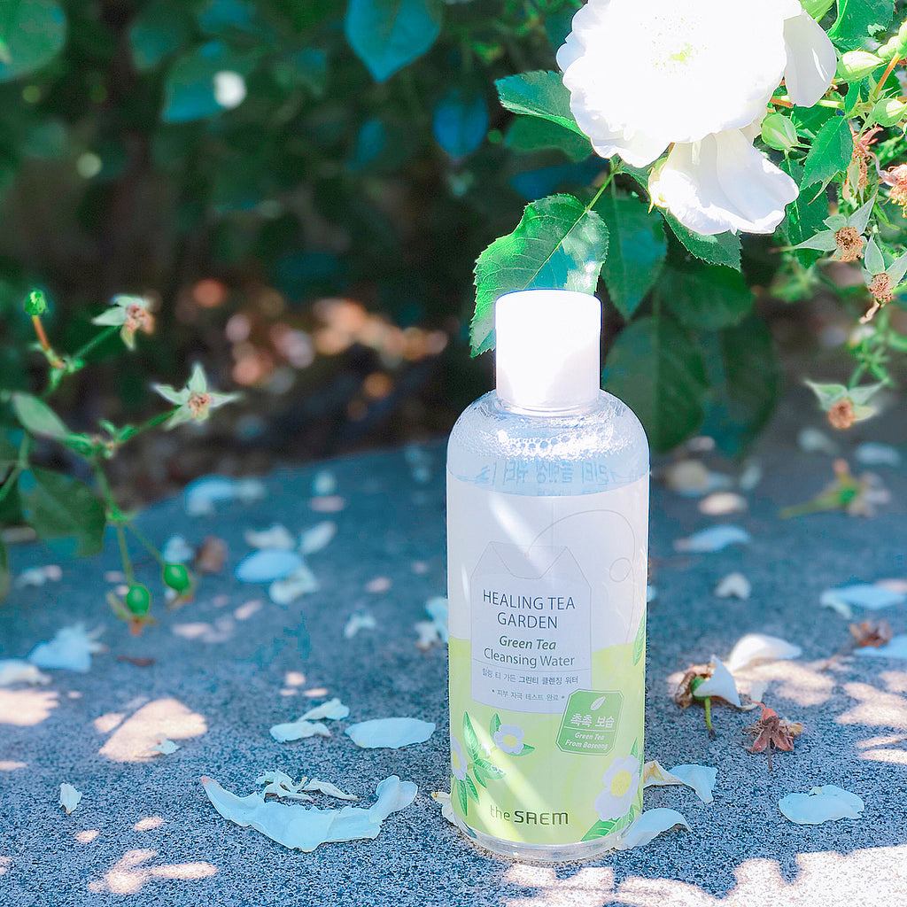 Mini review: The Saem healing Tea Garden Green Tea Cleansing Water