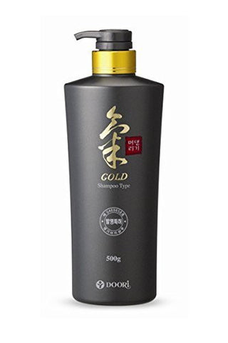 Daeng Gi Meo Ri Ki Gold Energizing Shampoo for gray Hair Prevention and Treatment