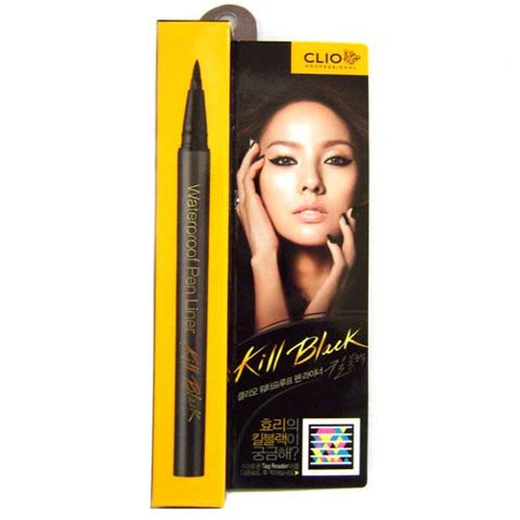 Clio Waterproof Pen Liner, Kill Black