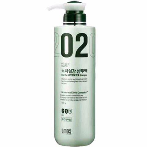 Amos Scalp Feel The Green Tea Shampoo