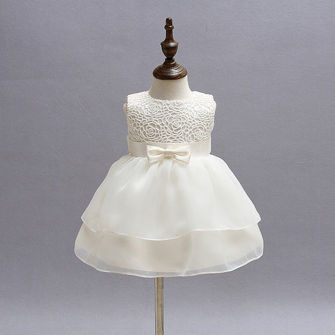 Vintage Lace Wedding Dresses (6-24M) - Anime Fuse