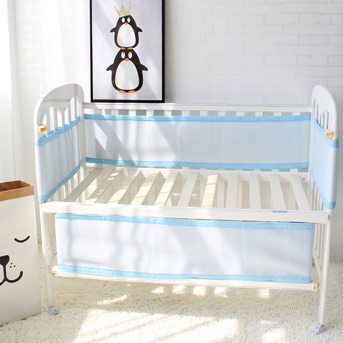 Yaraca™ Breathable See Through Baby Crib Bumper - Anime Fuse