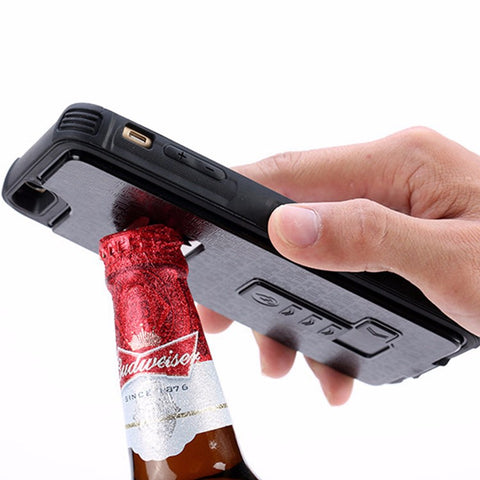 Bottle Opener & Cigarette Lighter Multi Functional Armor Case - Anime Fuse