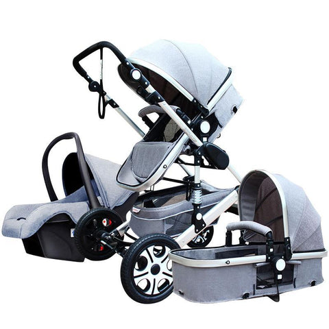 Yaraca™ 3-in-1 Luxury Stroller System - Anime Fuse