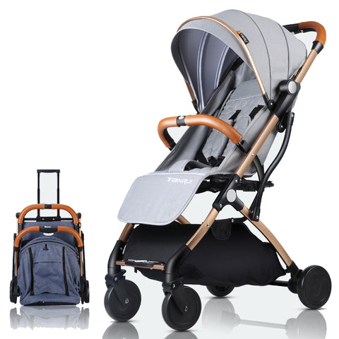 Nexace™ Airline Approved Foldable Travelling Stroller - Anime Fuse