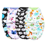Soft Double Layer Swaddle Wrap (0-24M) - Anime Fuse