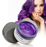 Unisex Color Hair Wax Dye One-time Molding - Anime Fuse