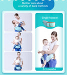 Baaobaab™ Ergonomic Baby 10 in 1 Hipseat Carrier (0-36M) - Anime Fuse