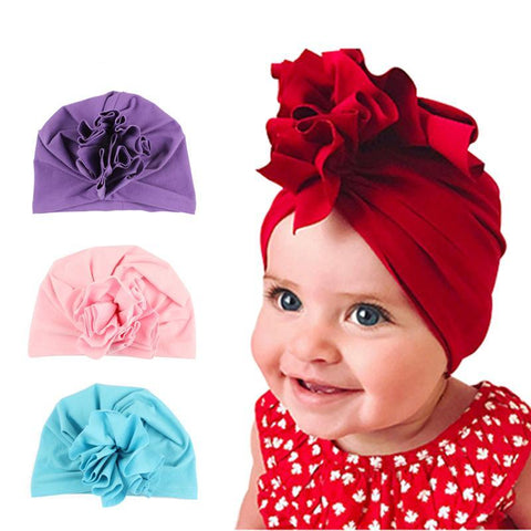 Baby Girls Turban Beanie - Anime Fuse