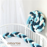 Braided Baby Crib Bumpers 300cm - Anime Fuse