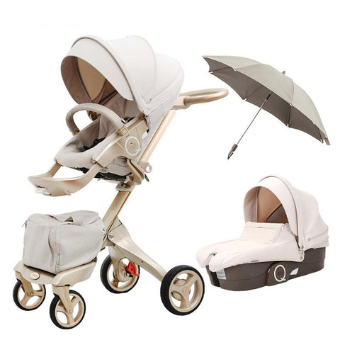 Yaraca™ Luxury 3-in-1 Stroller System - Anime Fuse