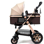 Belecoo™ Luxury Foldable Infant Stroller - Anime Fuse