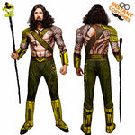 Men's Deluxe Justice League™ Aquaman Costume - Anime Fuse