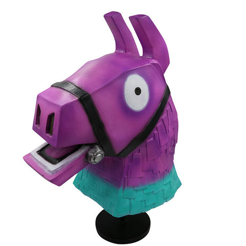 FORTNITE MASK PURPLE RAINBOW HORSEHEAD FULL HEAD HALLOWEEN COSPLAY ACCESSORY - Anime Fuse