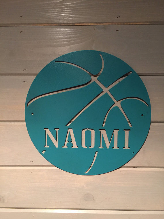 Basketball Sports Decor