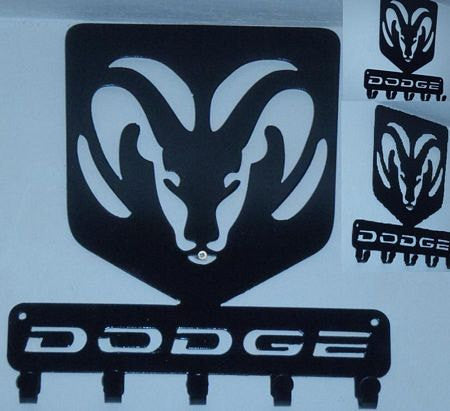 Dodge Logo Key Rack