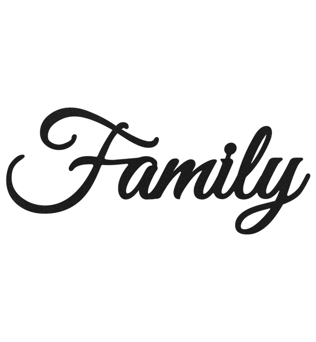 Family Metal Sign Home Decor