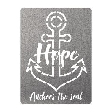 Hope Anchors the Soul Sign
