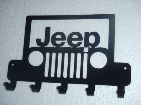 Jeep Logo Key Rack