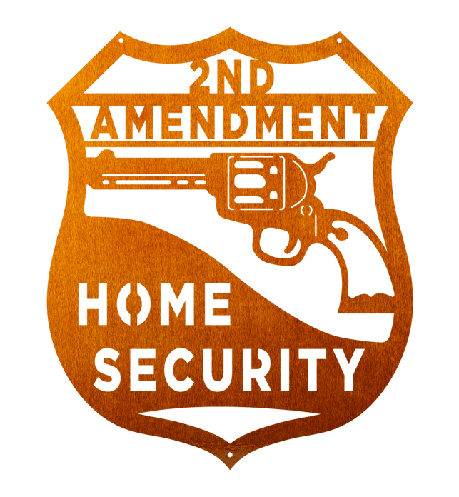 Revolver 2nd Amendment Home Security