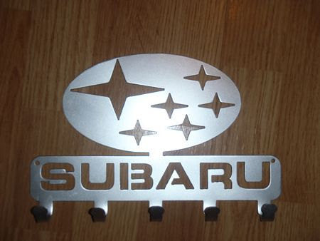 Subaru Logo Key Rack