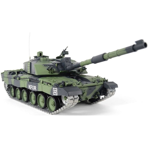 1:16 British Challenger 2 RC Tank - Pro Version - Camo Body - Epicstuff.co.uk