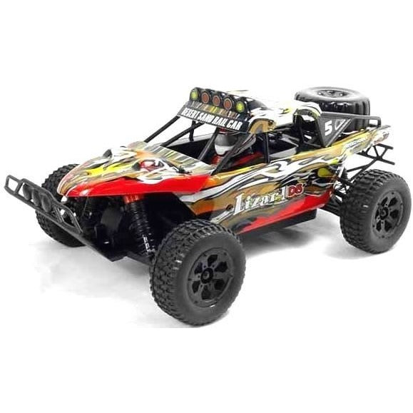 Lizard 1/18th Scale 4WD Electric RC Trophy Truck - 2.4Ghz - Epicstuff.co.uk