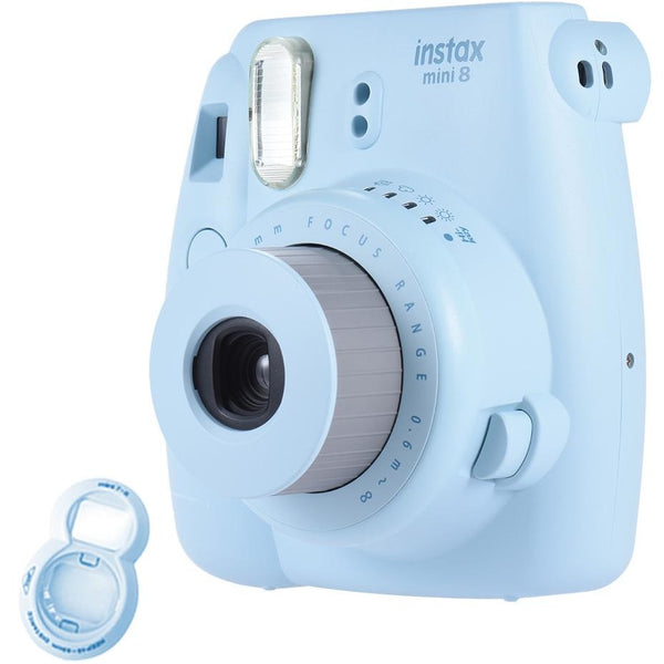 Fujifilm Mini 8 Instant Instax Camera  + Free close up Lens - Epicstuff.co.uk