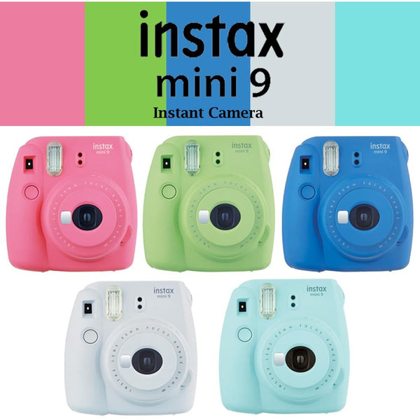 Fujifilm Instax Mini 9 Instant Camera Selfie Lens & Close up Lens - Epicstuff.co.uk