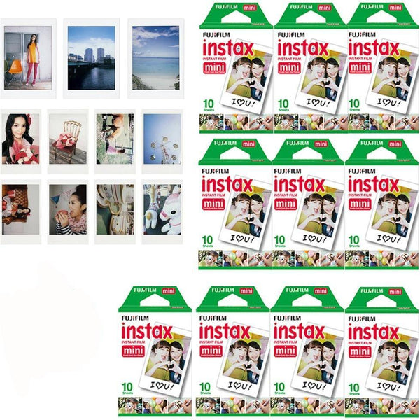 Fujifilm Instax Mini film 100 piece bundle pack - Epicstuff.co.uk
