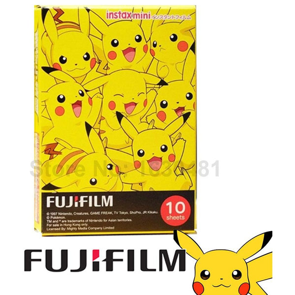 Fujifilm Instax Mini 8 & 9 Pokemon Film 10 Sheets - Epicstuff.co.uk