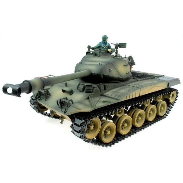 Taigen Hand Painted RC Tanks - Metal Upgrade - Bulldog - 2.4GHz - Epicstuff.co.uk
