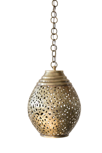 Douria Tooled Pendant