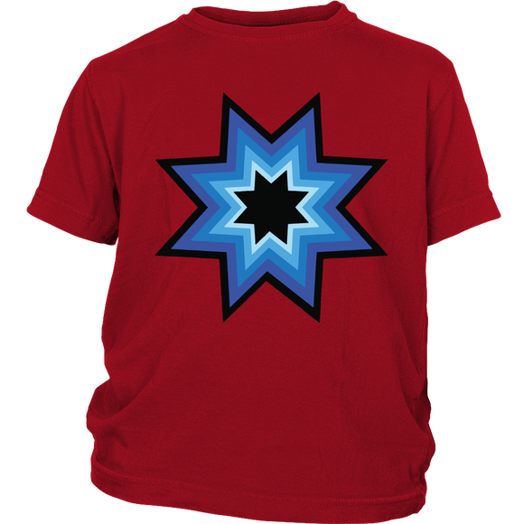 Blue Star Love Youth Shirt