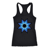 Blue Star Love Racerback Tank
