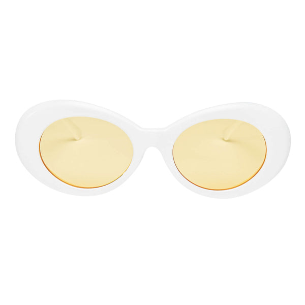 Clout Goggles White + Yellow
