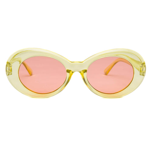 Clout Goggles Clear Yellow + Orange