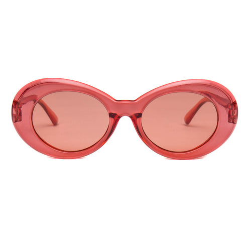 Clout Goggles Clear Red + Red