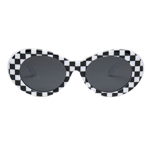 Clout Goggles Checkered White