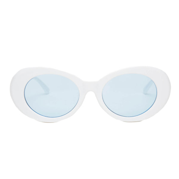 Clout Goggles White + Blue