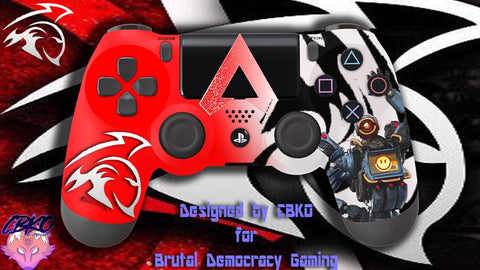 BDG Apex team Playstation 4 controller