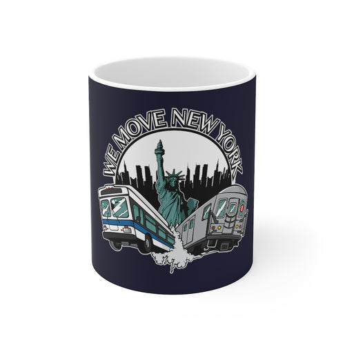WMNY 11oz Coffee Mug (blue)