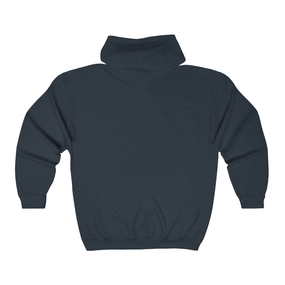 Train and Bus Full Zip Hoodie