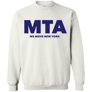 MTA WMNY (blue letters) Pullover Sweatshirt