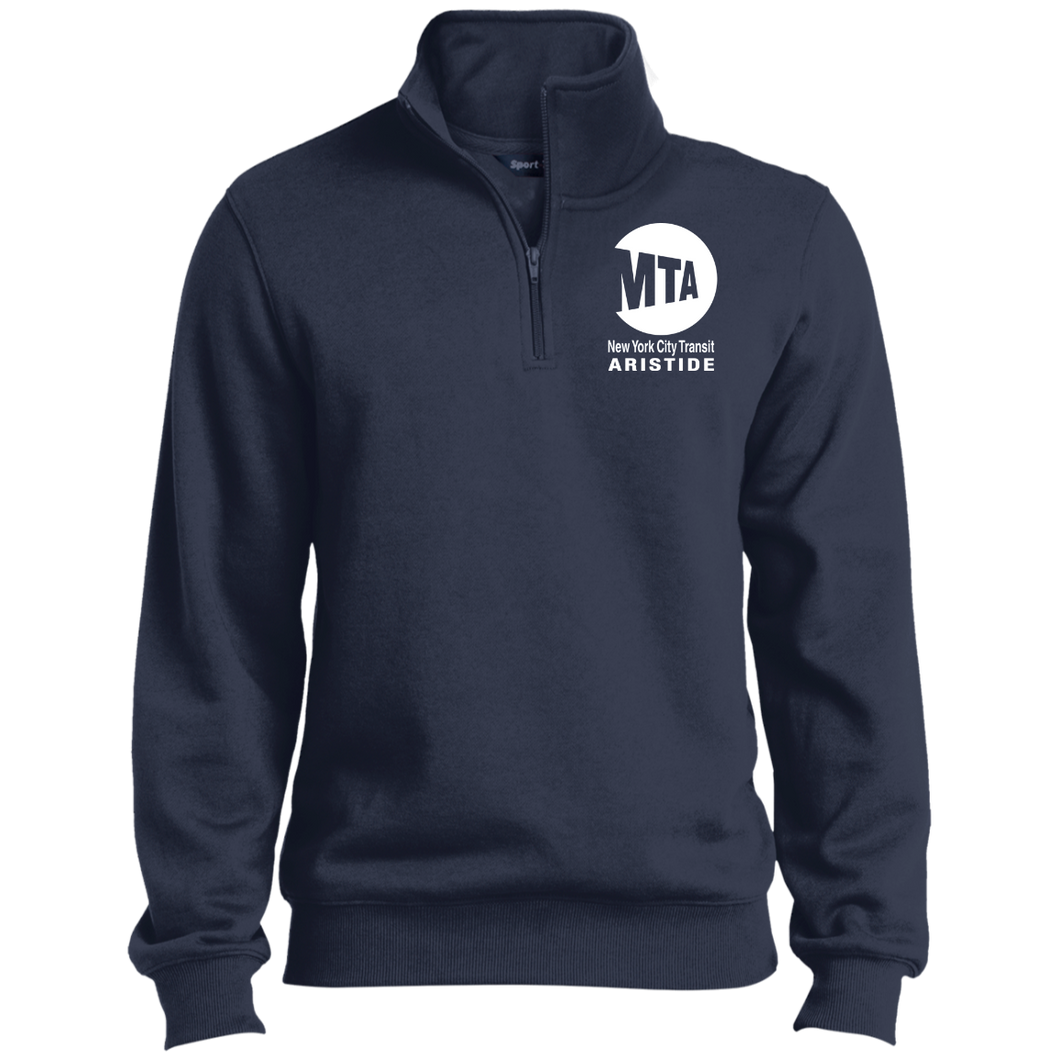 Arisitide custom print 1/4 Zip Sweatshirt