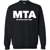 MTA WMNY (white letters) Pullover Sweatshirt